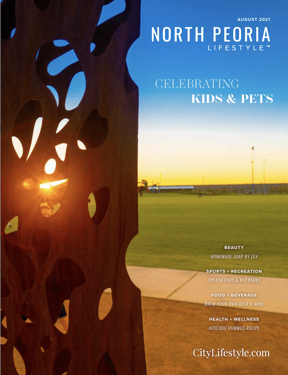 North Peoria Lifestyle Cover August 2021